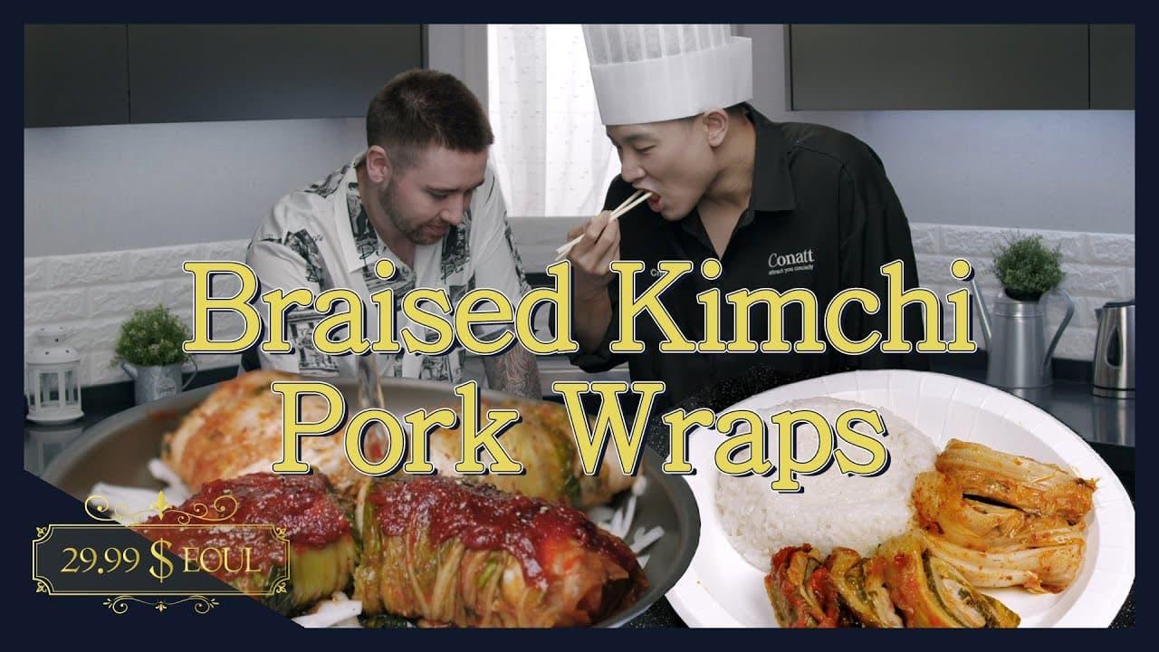 <br> 外国人が韓国料理<br> 「デジ・ギムチチム」作りに挑戦<br> (WeFancy)